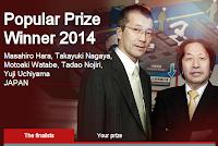 Popular prize winner 2014